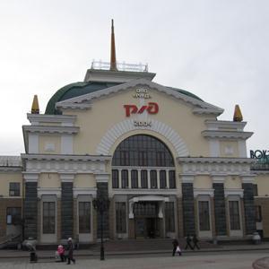 Железнодорожные вокзалы Губкинского
